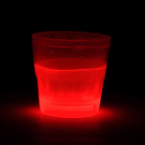 svítící sklenička
